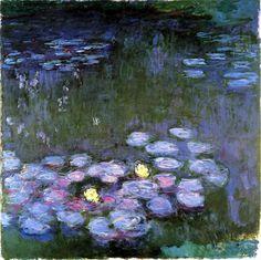 bofransson:  1914-17 Claude Monet Nimphèas