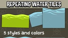 Water and fluids tiles has just been added to GameDev Market! Check it out: http://ift.tt/1SmUlxq #gamedev #indiedev