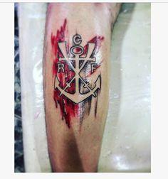 Time Tattoos, Tatoos, Tattoo Finder, Deathly Hallows Tattoo, Tattoo Images, Watercolor Tattoo, Tattoo Perna, Pasta, Shield Tattoo