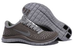 sneakers for cheap 50271 7217a Femmes Nike Free 3.0 V4 De Course Café Brun Reflective Argent Chaussures Running  Nike, Free
