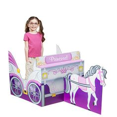 Princess Carriage Sit In Prop