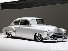 1949 Oldsmobile 88 mild custom, very nice.