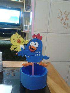 centro de mesa com pega balão para decoração de festa, fazemos varios temas
