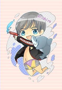 Aiichiro is so flipping cute you guys. I love him.