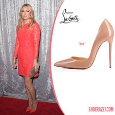 fake christian louboutins online - Hilary Duff in Christian Louboutin So Kate Black Suede Pointed-Toe ...
