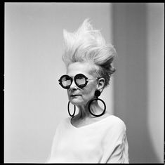 Lyn Slater at We Love Glasses