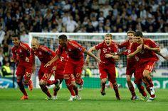 Bayern Munich's in the final game. yeah baby!