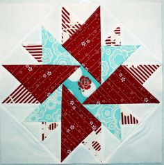 Confessions of the Crafty ADD: Modern Star Quilt Block Tutorial