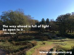 The way ahead is full of light...