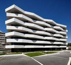 Apartament building in Porto, Portugal by dEMM Arquitectura - #architecture - ☮k☮