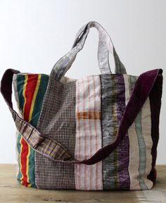 use reclaimed fabrics...