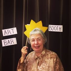 """@artbarraleigh tonight!! Art themed photo booth!! Practice your knowledge of art history and Instagram it!!"""