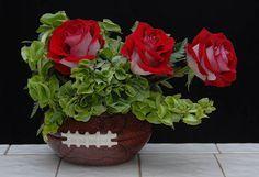 football flower arrangement - Google Search