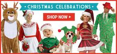 Buy costumes for the whole family . Buy Costumes, Holiday Costumes, Young Old, School Play, Recital, Plays, Christmas Holidays, Santa, Celebrities