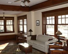 Family Room Craftsman Style Design, Pictures, Remodel, Decor and Ideas - page 16