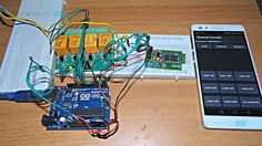3 Projects using Relays & Arduino for Home Automation - Learn Robotics Arduino Home Automation, Home Automation Project, Home Automation System, Smart Home Automation, Home Security Camera Systems, Security Cameras For Home, Electronics Projects, Electronics Basics, Hobby Electronics