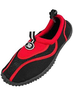 StarBay  Womens Water Shoe Aqua Sock Red 373587BMUS ** You can find out more details at the link of the image.