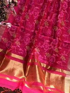 Soft Maheshwaris with cross-stitch Parsi work gst Order what's app 7995736811 Indian Bridal Sarees, Bridal Silk Saree, Organza Saree, Saree Wedding, Bollywood Images, Bollywood Saree, Bollywood Fashion, Silk Saree Kanchipuram, Kanjivaram Sarees