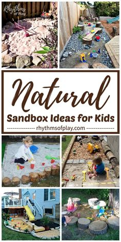 Here's a round-up featuring an amazing collection of unique and creative DIY outdoor sandboxes for use at home in the backyard or patio that toddlers, preschoolers and elementary aged kids will LOVE! Outdoor Fun For Kids, Outdoor Play Areas, Outdoor Activities For Kids, Backyard For Kids, Diy For Kids, Outdoor Games, Summer Activities, Family Activities, Backyard Ideas