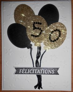 Carte pour 50e anniversaire de mariage