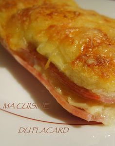 Pain perdu Jambon/Fromage au Four & Tag - Ma cuisine du placard Snack Recipes, Cooking Recipes, Snacks, Tomate Mozzarella, Wrap Sandwiches, Junk Food, Kids Meals, Entrees, Brunch