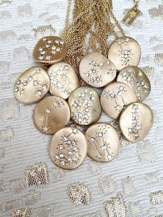 LibraZodiac+Constellation+Necklace+by+BrooklynMarieJewelry+on+Etsy,+$12.00