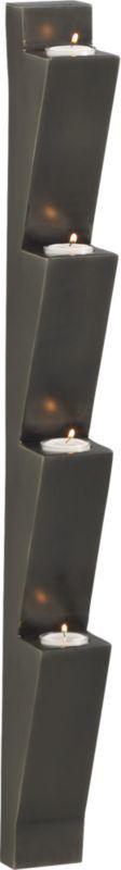 pike wall mounted candleholder  | CB2