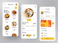 Orix Food App by Sajon for Fireart Studio on Dribbble