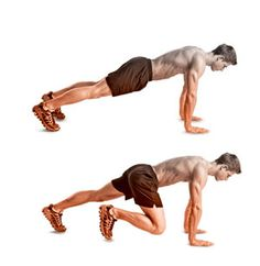 30 seconds of each exercise, 2 minute breaks, 3 rounds. Down and dirty body weight fat melter.
