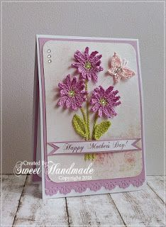Mother's day Card - Created by Sweet Handmade http://sweetiehandmade.blogspot.ro/