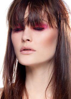 pink eyed with the always beautiful Charlotte de Carle http://www.establishedmodels.com/model/charlotte-de-carle/