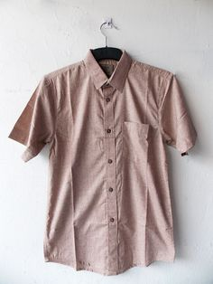 "Diym ""Cembre 01"" shirt in brown. Idr 175.000"