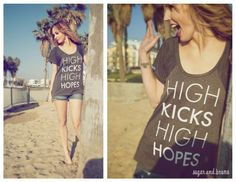 Love this dancer-themed tee as well! (Keltie for Sugar & Bruno)