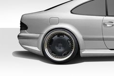 1998-2002 Mercedes CLK W208 Duraflex Black Series Look Wide Body Rear Fender Flares - 2 Piece