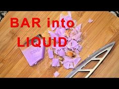 Money Saving DIY – Make a Gallon of Liquid Hand Soap from a Bar of Soap - DIY & Crafts