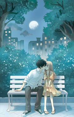 ❤❤❤❤ You may find it through these moving romance stories. Anime Cupples, Anime Couples Manga, Kawaii Anime, Cool Anime Girl, Anime Art Girl, Anime Love Couple, Manga Couple, Manhwa, Romantic Anime Couples