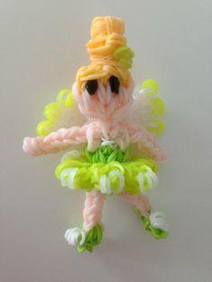 Rainbow loom Disney Fairy Tinklebelle