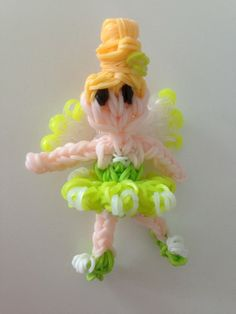 Rainbow loom Disney Fairy Tinklebelle