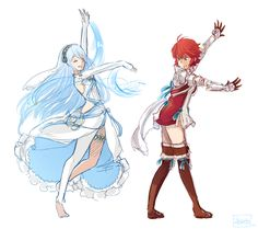 Hinoka trying to dance like Azura