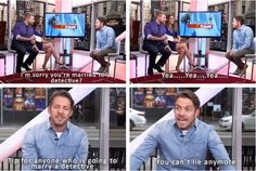Sean Maguire at Hollywood Today Live - 15 October 2015