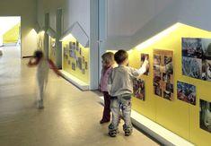 Student work, corridors
