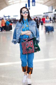 Victoria Fx, Victoria Song, Song Qian, Airport Style, Airport Fashion, Red Velvet Irene, Kpop Girls, Hipster, Street Style