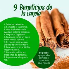 9 beneficios de la canela