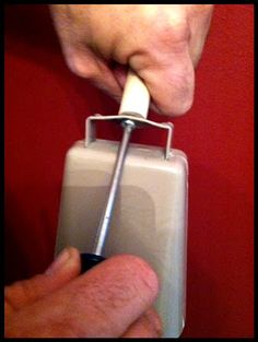 DIY by The Tickled Herring: Football Game Night Redneck Country Cowbell Noisemaker