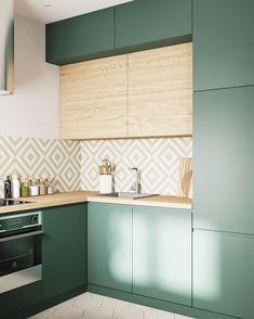 Kitchen Lighting Design, Kitchen Room Design, Kitchen Cabinet Design, Modern Kitchen Design, Kitchen Layout, Interior Design Kitchen, Kitchen Decor, Cosy Kitchen, Scandinavian Kitchen