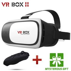 0072360e101 Casque 3 D Vrbox VR Box 2.0 2 II 3D Virtual Reality Glasses Goggles Headset  Helmet For Smart Phone Smartphone Google Cardboard