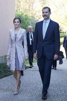 King Felipe and Queen Letizia Visit Portugal – Day 1 - Casa de Serralves - Exposição de Joan Miró....