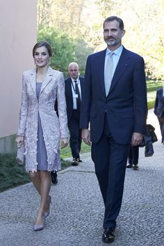 King Felipe and Queen Letizia Visit Portugal – Day 1 - Casa de Serralves - Exposição de Joan Miró....