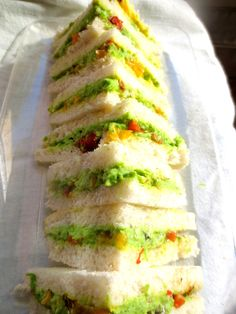 Sandwich Végétarien/Végan pour Carolina / Veggie or Vegan Sandwich for Carolina