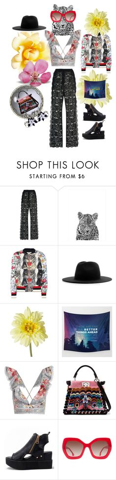 """""""🌸Wide🌺Pants🌸"""" by maijah ❤ liked on Polyvore featuring Dolce&Gabbana, Gucci, Études, Zimmermann, Fendi, WithChic and Alice + Olivia"""